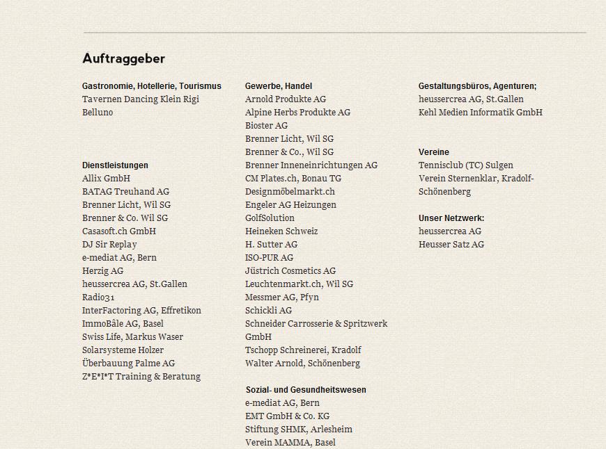 Kunden und Auftraggeber der qData GmbH