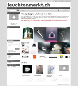 Leuchtenmarkt.ch Startseite HD