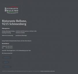 Ristorante Belluno 9215 Schönenberg an der Thur