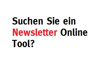 Newsletter Online Tool